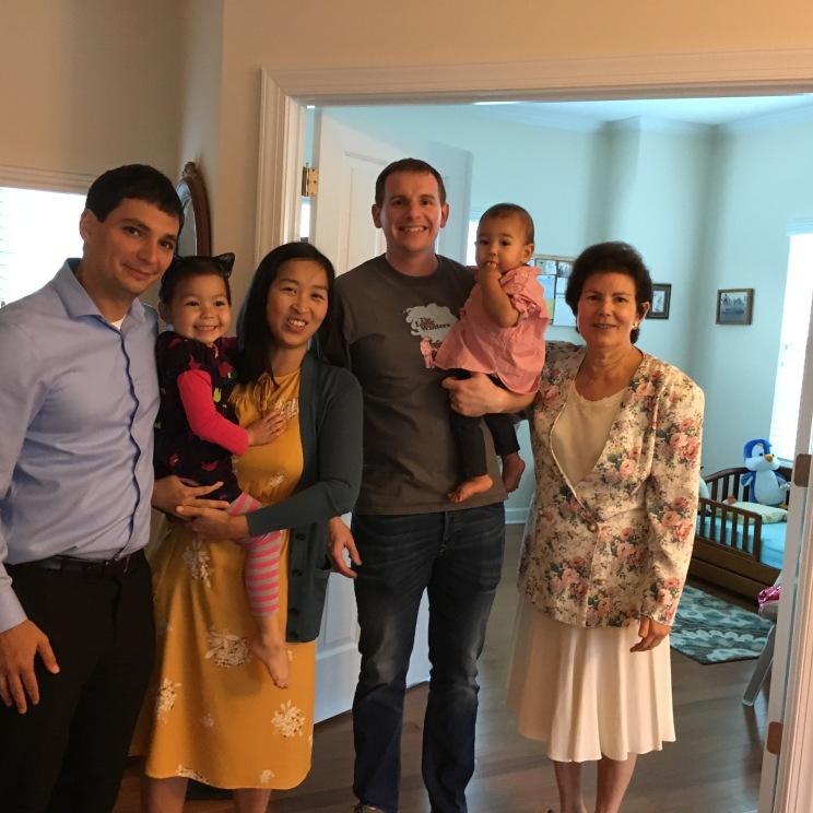 Nadav, Naomi (in cat ears!!), Ha, Jon, Alon & my mom!