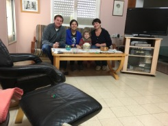 My awesome aunt, Nitza, and her grand-daughter, Matar