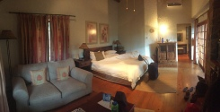 Our room at the lodge
