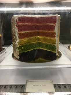 This cake was amazing & very appropriate for Pride month!