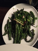 Grilled beans, yum...