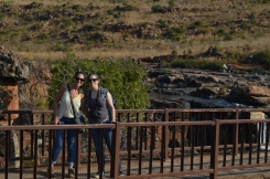 At the Bourke's Luck Potholes
