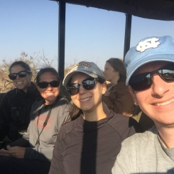 Safari with our next visitors, Alyson & Kate!