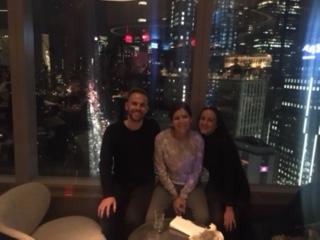 Sittin' on the top of the world! (Mandarin Oriental Hotel at Columbus Circle)