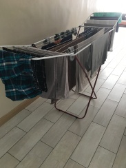 We thought about not buying a drying rack, since one is coming in the shipment, but quickly realized it was critical.
