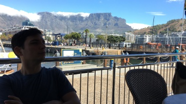 Table Mountain, seen from the waterfront!