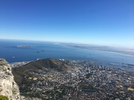 Table Mountain: the top!