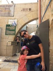 At the entrance to the Jaffa Gate!