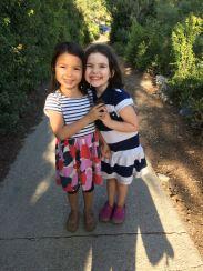 Such sweet girls...