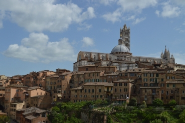 The beautiful city of Siena!