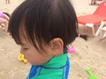 Cute, little ponytail!