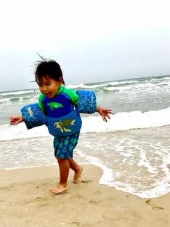 The kid is loving life!