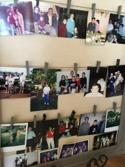 An array of photos of the family, from over the years...