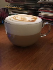My sister's famous tea lattes!