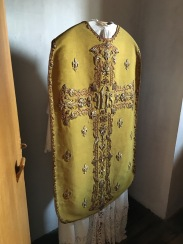 Robe that the priests would wear.