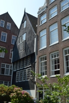 The oldest house in Amsterdam, from the late 1400's...