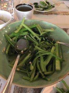 Yummy greens...
