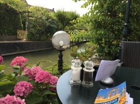 My picturesque lunch in Edam...