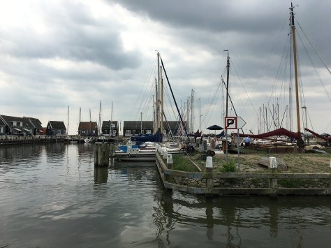 The docks in Marken!