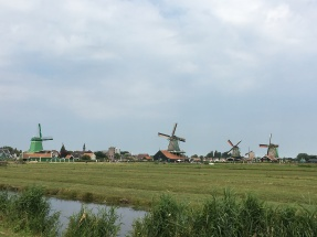 The famous windmills of Zaanse Schans!