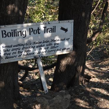 Boiling Pot walk!