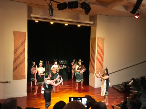 The Maori show...