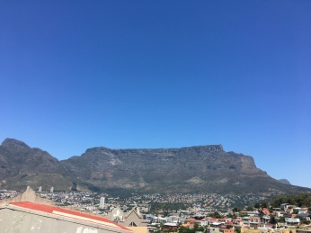 Hello again, table Mountain!