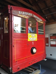 Old cable car that was restored...