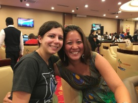 Faye, my favorite gambling buddy!