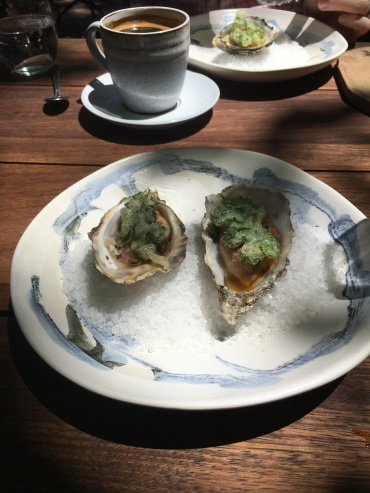 Oysters at Foxcroft! Yes, please!