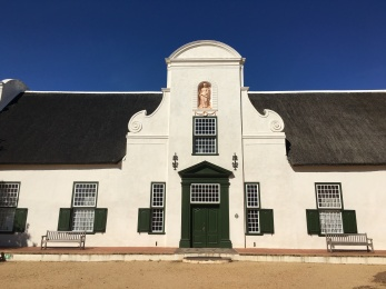 The manor at Groot Constantia!