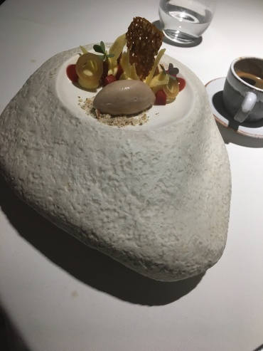 Dessert: smoked stanford gruyere. (Jon's)