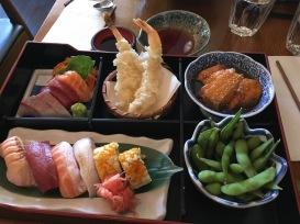 Yummy, yummy sushi.