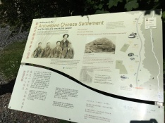 Interesting information on the Chinese village...