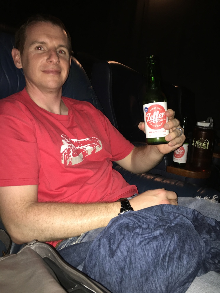Cider during the movies? Awesome!