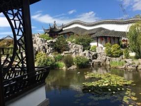 The beauitful gardens...