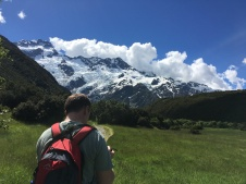 Ready to see Mt. Cook!
