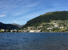 Lake Wakatipu in Queenstown was beautiful...